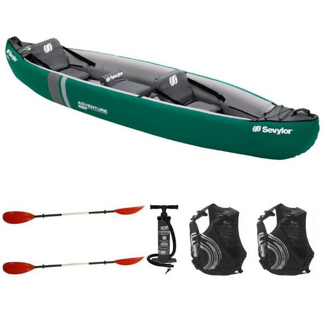 Sevylor - Adventure Plus 2 1 Canoe with Bag